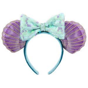 Disney Ariel Mermaid Minnie Ears